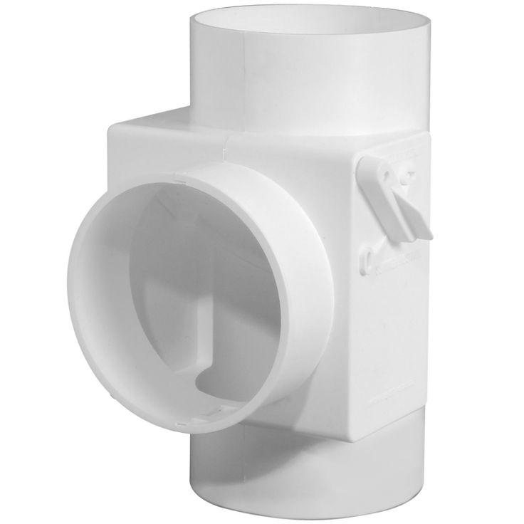 Récupérateur de chaleur de sécheuse   Récupérateur de chaleur de sécheuse      Permet d'économiser de l'énergie     Convertit la sécheuse en une source de chaleur supplémentaire      Dirige l'air chaud et humide de la sécheuse vers l'intérieur     pendant les mois d'hiver froids et secs     Facile à installer     Convient à des conduits flexibles de 4 po (10,2 cm)