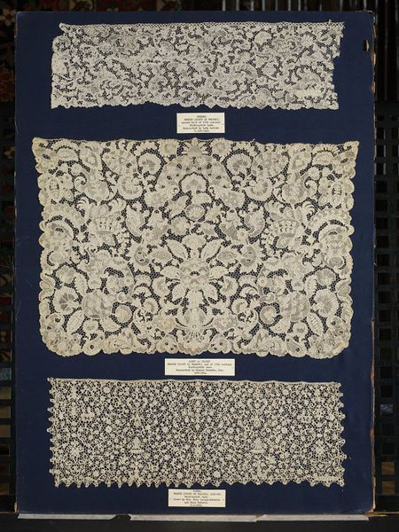 """French needle lace 1660-1680"""
