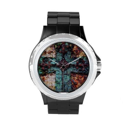 Vintage cross watch.