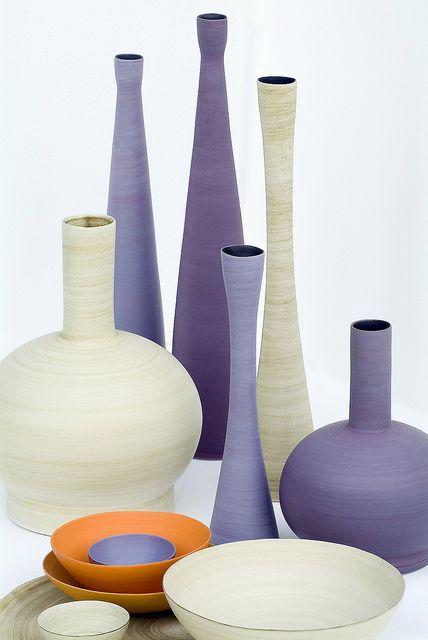 Ceramics by Rina Menardi.  www.providehome.com