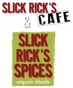 Slick Rick's Organic Spices are great for 'waking up' any dish. Spice gift sets are available, sampler packs are available as well. Buy online or in our Cafe at 109 N. Pearl Street, Natchez Mississippi.
