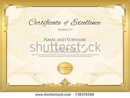Ide Terbaik Graduation Certificate Template Di