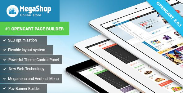 10 best free opencart themes images on pinterest website for Opencart template builder