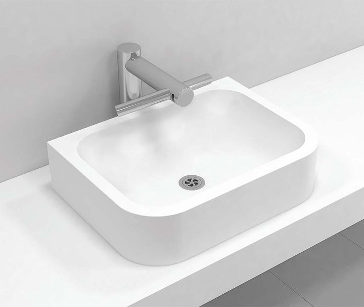 306 Top Mont Basin This is one of our new Corian® basin designs that is top mounted onto your benchtop surface. This design is also available in a larger range of Corian® colours, making it perfect for creative expression in your new bathroom. *This is a Suggested Sell Price for the top mount basin only and is ex gst. Installation is not included in the price.