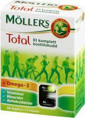 MÖLLER'S TOTAL – ET KOMPLETT KOSTTILSKUDD fra Mollersdirekte. Om denne nettbutikken: http://nettbutikknytt.no/mollersdirekte/