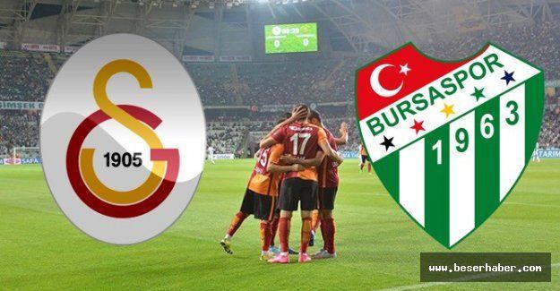 Bursaspor canli maç izle -  ATV canlı izle Galatasaray Bursaspor canlı maç LİG TV izle, Şifresiz GS Bursaspor 4