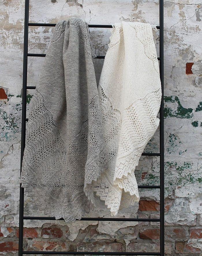 baby tæppe i uld strikkekit