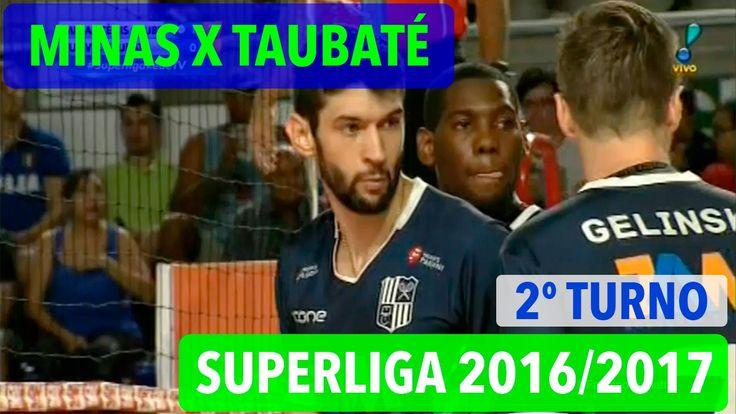 Minas x Taubaté - Superliga de Vôlei Masculino 2016/2017
