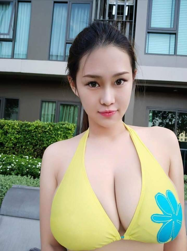 Sexy breast in asia