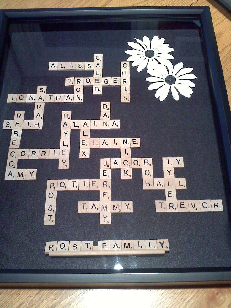 25 Best Ideas About Scrabble Tile Crafts On Pinterest