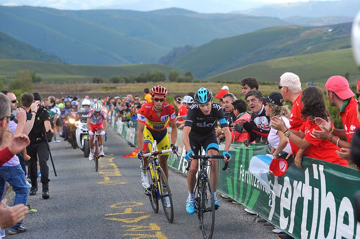Gallery: 2014 Vuelta a Espana, stage 20 - Froome and Contador caught and quickly dispatched Rodriguez on the upper slopes of Ancares, setting up one final duel for Vuelta supremacy. Photo: Tim De Waele | TDWsport.com