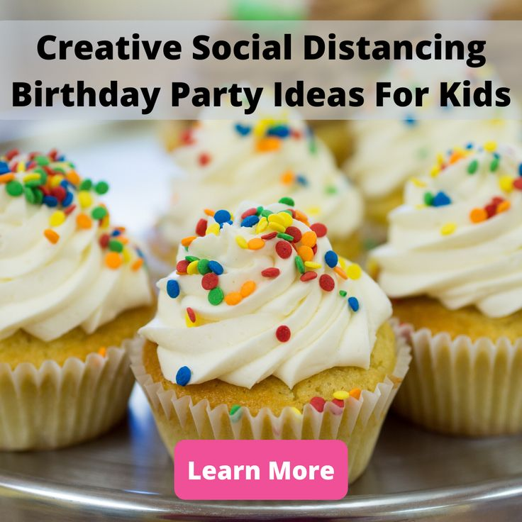 Creative social distancing birthday party ideas for kids