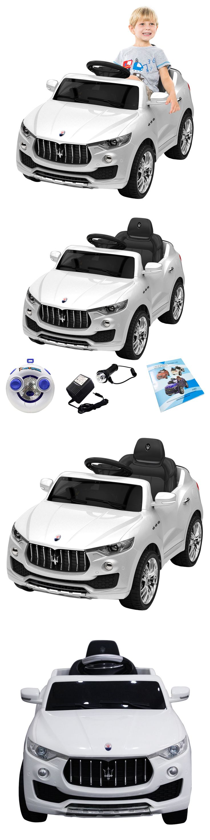 Ride On Toys and Accessories 145944: 6V Licensed Maserati Kids Ride On Car Rc Remote Control Opening Doors Mp3 Swing -> BUY IT NOW ONLY: $129.99 on eBay!