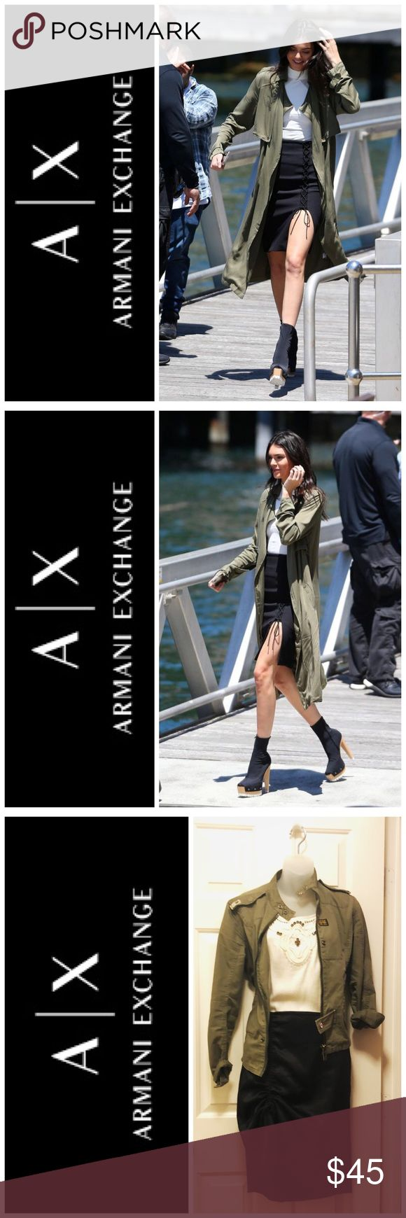 Armani Exchange Black Skirt P0. Get the look! Armani Exchange Black Skirt P0. Get the look! A/X Armani Exchange Skirts Pencil