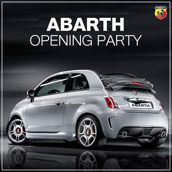 Abarth otwiera imprezę! #Abarth500C #Cabrio