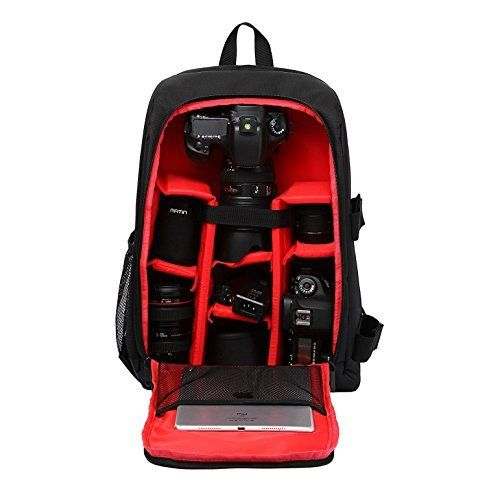 Beaspire Camera Backpack Waterproof Nylon DSLR Backpack Professional Camera Bag with Code Lock for Canon Nikon Sony Camera Accessories and Laptops Tablets Black Large by Beaspire, http://www.amazon.co.uk/dp/B01MCVOAWG/ref=cm_sw_r_pi_dp_x_ggpEzb9RMVX6G