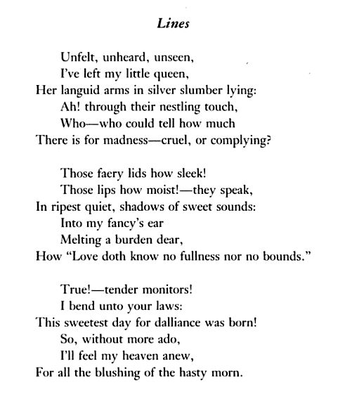 a literary analysis of the poetry by keats Describe how, in these examples of your thesis, the words, the rhythm, the images, the metaphors, and the other literary devices that keats uses support your view of the poem as you describe these examples in your paper you are developing your thesis.