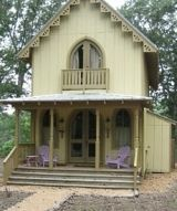 Looks like a doll house but it's real!Little Houses, Cottage Houses, Gothic Revival, English Cottages, Gothic Cottage, Tiny Houses, Revival Cottages, Guest Houses, Doll Houses