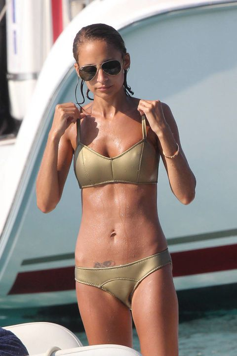 Nicole Richie. See all of Hollywood's best swimsuit style, from cutout one-pieces to stringy bikinis,