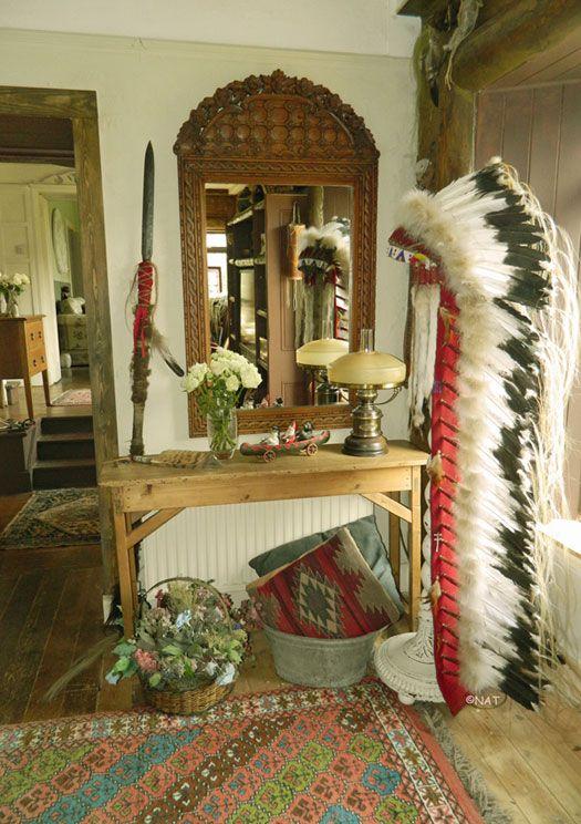 Native American Wesrt Native American Bedroom Native