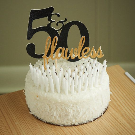 cake topper-50-flawless