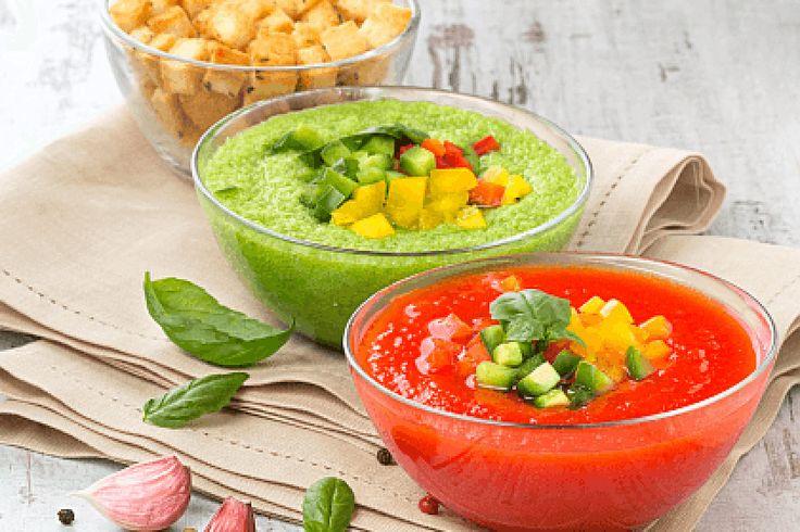 Hűsítő 5 perces főzés nélküli levesek