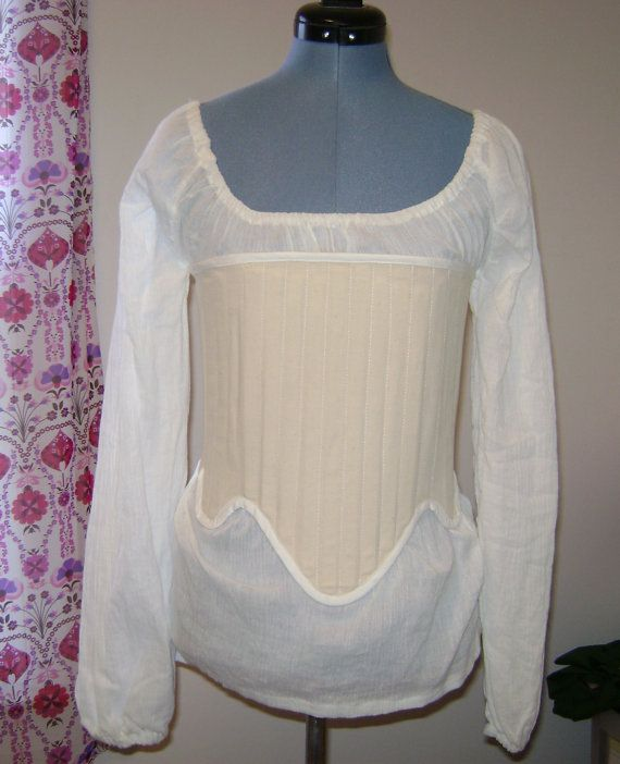 Renaissance Strapless Corset Upon Request by historicaldesigns