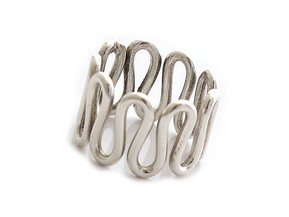 "Sterling Silver Ring | ""Rarezas"" 