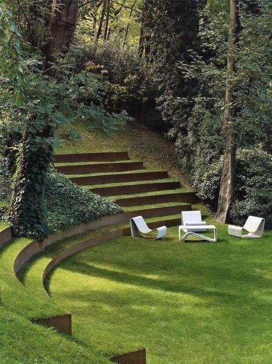 Landscape architecture  #modernlandscaping #architecture #customdesign http://Ninebarklandscaping.com