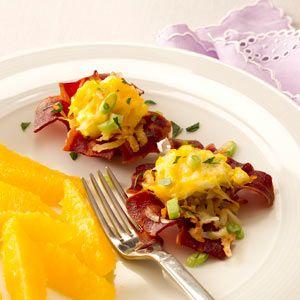 Bacon Breakfast Cups Recipe from Taste of Home