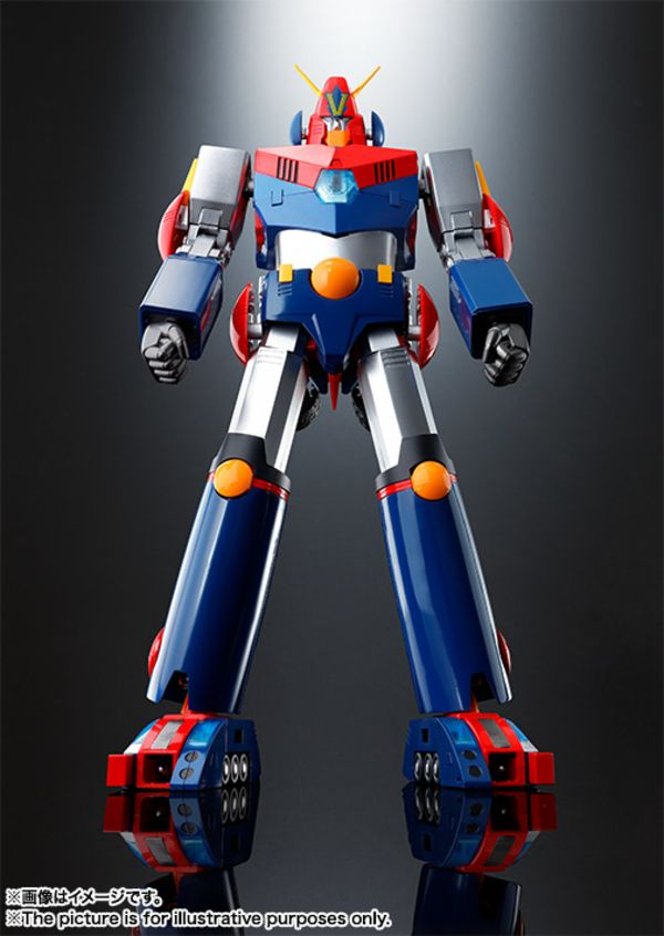 "DX Soul of Chogokin Combattler V ""Cho Denji Robo Combattler V"" From Tamashii Nations"