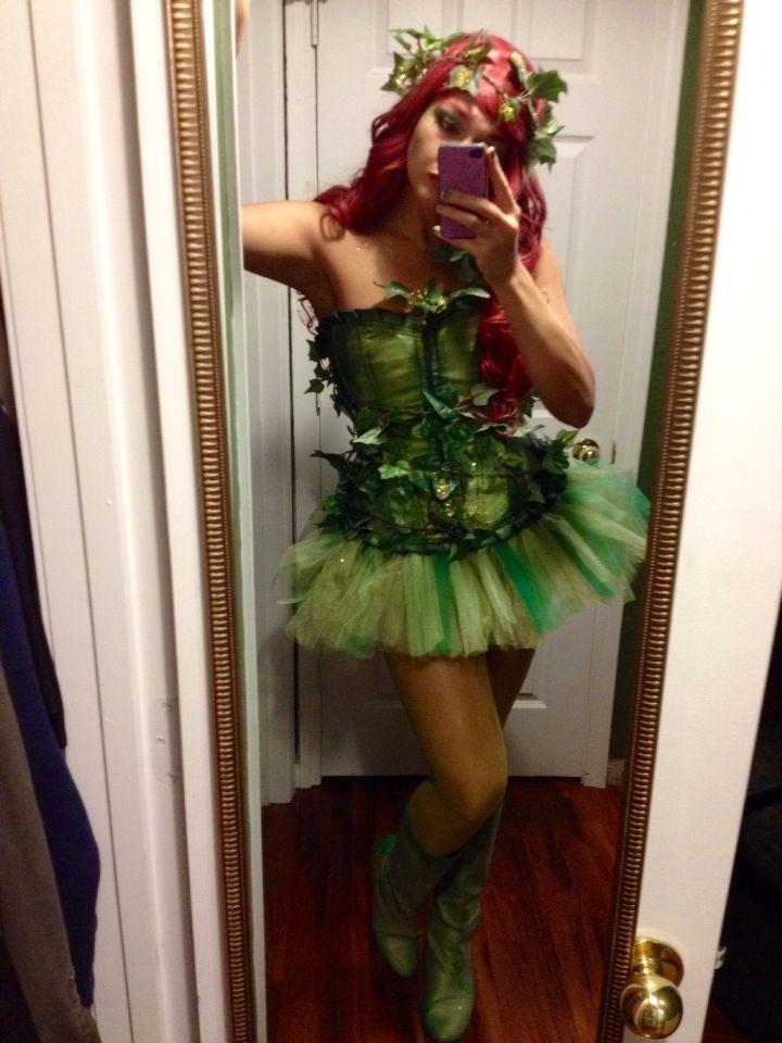 Homemade poison ivy costume!