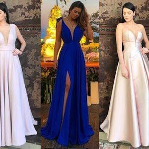Vestido Festa Usado Vestidos Usado com o Melhores Preços