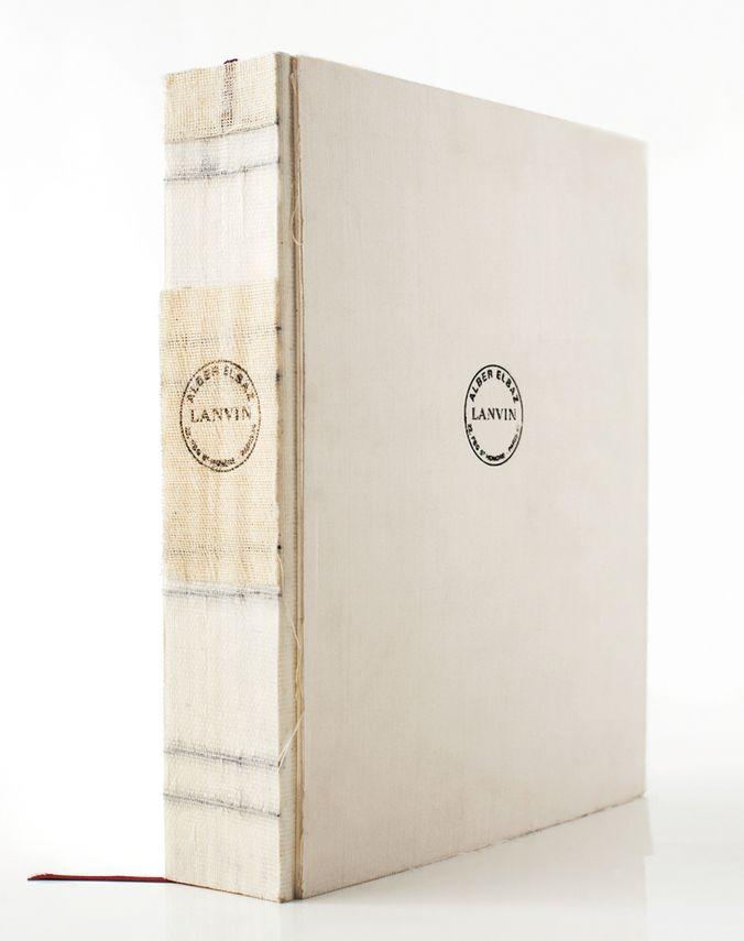 Lanvin - BOOK ALBER ELBAZ, LANVIN - Gifts