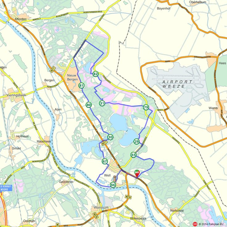 Fietsroute: Dwars door her Nationaal Park de Maasduinen (http://www.route.nl/fietsroutes/151245/Dwars-door-her-Nationaal-Park-de-Maasduinen/)