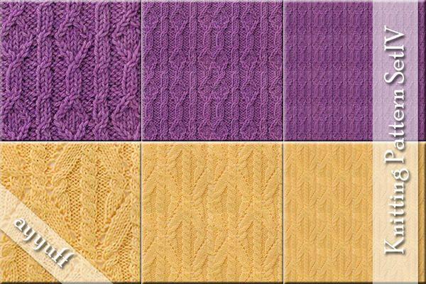 ayyuff's Knitting Pattern Set IV