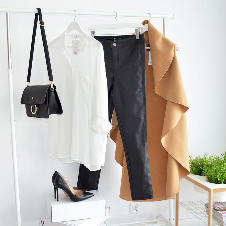 WAISTCOAT WATERFALL CAMEL I  MONASHE.PL - Sklep online z modną odzieżą. Bluzki, sukienki, torebki, obuwie, akcesoria.