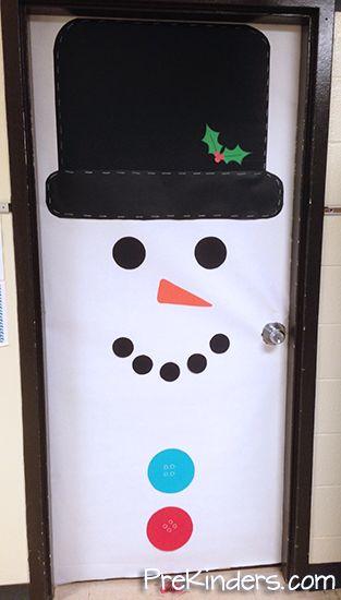 Snowman Door Decoration