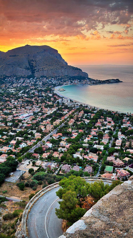 Mondello beach, Palermo, Sicily