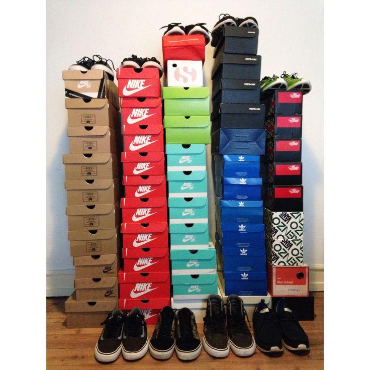 Sneaker collection for two ❤️  Nike, adidas, supra, huf, reebok, vans.