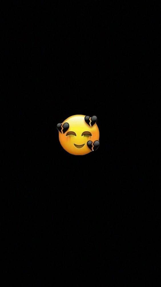 Black Emoji Wallpaper