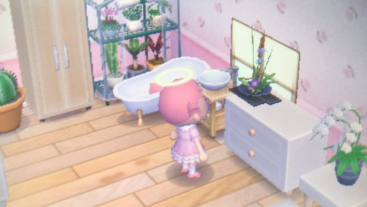 My Acnl Bathroom I Ve Been Doing Some Remodeling In My Home And This Is A C New Ideas Room Ideas Bedroom Table Decor Living Room Acnl