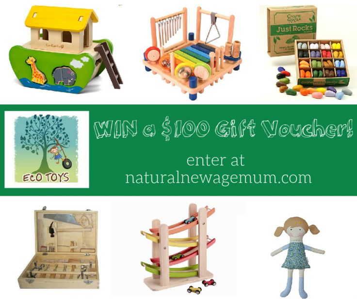 Eco Toys Giveaway. Day Two of The Great Christmas Giveaway Week! Today it's an awesome $100 voucher from the best online natural toy store, Eco Toys!