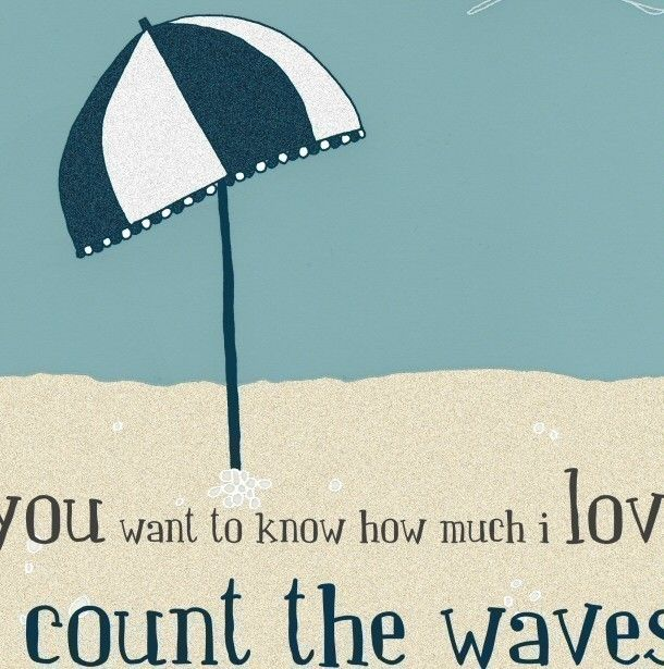 Quotes About The Ocean And Love: Quote Art Print Love Beach Ocean