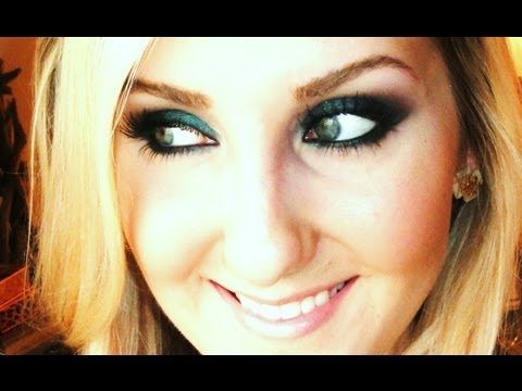 Smoked Emerald Fall Makeup Tutorial- UD Smoked Palette