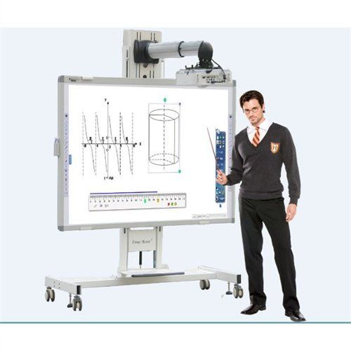 Electromagnetic Interactive Whiteboard (DB-85ENS-D02). Multi User - Two users can simultaneously write, perform mouse functions, or manipulate content on the interactive whiteboard surface by pen without having to switch into a separate multiuser mode or work in a confined area. Donview interactive whiteboard with a 4:3, 16:9, or 16:10 aspect ratio; allows the user to pick the appropriate settings to match different computer and/or projector settings. The Donview IWB comes with an...