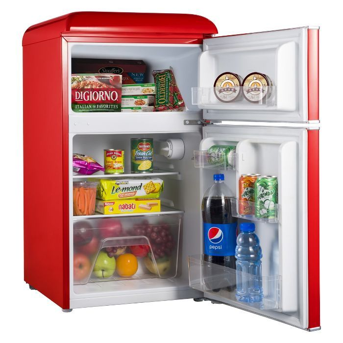 Galanz 3 1 Cu Ft Retro Mini Fridge Target Mini Fridge With