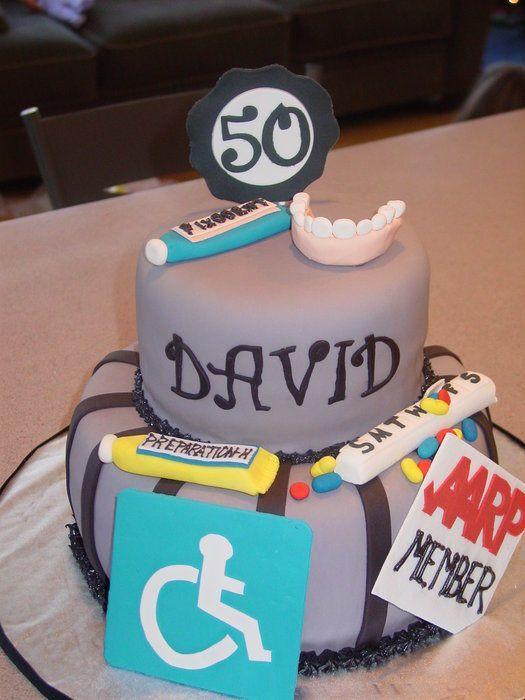 50th Birthday Cake - CakesDecor