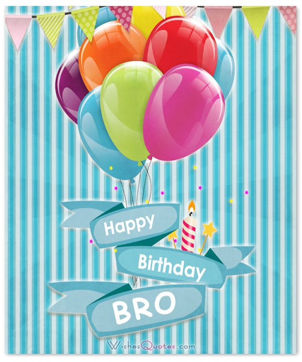 Happy Birthday, Brother – 100 Brother's Birthday Wishes