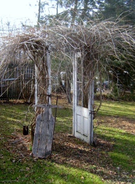 Trellis Made From Old Doors Ideas For The Yard Amp Garden